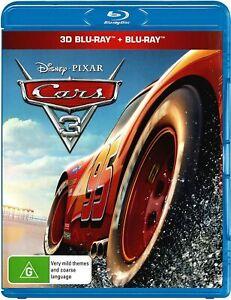Cars 3 3D (Blu-ray 3D + Blu-ray)