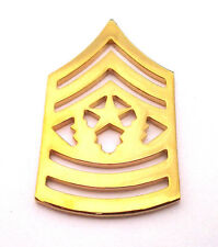 Us Army Rank E9 Command Sgt. Major (Gold) Military Veteran Hat Pin P15258 Ee