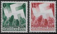 Germany Third Reich 1936 Mi# 632-633 MH Nuremberg Congress *