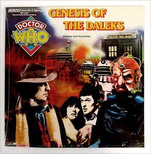 DR WHO LP Genesis of Daleks TOM BAKER Sealed!