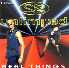 2 Unlimited CD Real Things - France (EX/M)