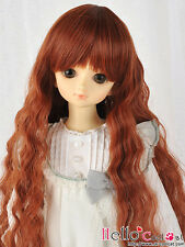 """(50% Off)【NC-M01】7~8"""" Heat-Proof Wave Wigs(MSD/AR/VMF50) # Carrot Red"""