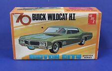 AMT X853 1970 Buick Wildcat Hardtop Annual Kit 1:25 EMPTY Box Motor City SEries