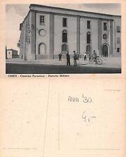 Chieti Caserma Pierantoni Distretto militare animata anni '30 bici (L-L 056)
