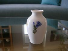 Nymphenburg Mini Vase Blumen Blümchen Little Flowers Brauner Rand Brown Rim