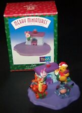 1999 Disney's Winnie the Pooh Merry Miniatures Hallmark Figurines - All Four (4)