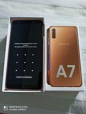 Samsung Galaxy A7  - 64 GB - ram 4 GB-  Gold MARZO 2019