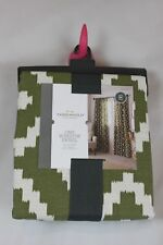 """Target Threshold Olive Southwest Curtain Panel, 9 Available, $20 each, 54""""x84"""""""