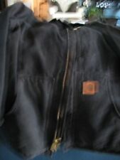 CARHARTT canvas Work Jacket Parka LARGE REG.