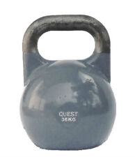 36 KG (80 LB) Quest Pro-Grade Competition Kettlebell CrossFit Steel Kettle Bell