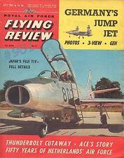 THUNDERBIRD Republic P-47D - VJ 1O1 X1 - R.A.F. Flying Review magazine July 1963