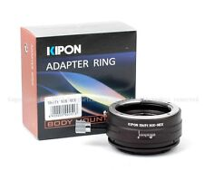 Latest Kipon Shift adapter for Nikon F lens to Sony NEX-7/6/5 full frame a7 a7r