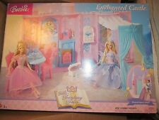 2004 Barbie Fantasy Tales Enchanted Castle w/ Musical Dance Stand NEW