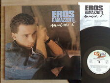 EROS RAMAZZOTTI -MUSICA E'- LP 33 GIRI  CON 2 BONUS TRACKS GERMANIA