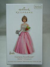 2011 Hallmark Keepsake Ornament Campus Sweetheart Barbie #18
