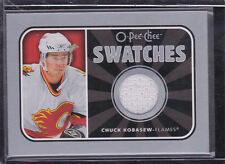 2006-07 O-Pee-Chee Swatches #SCK Chuck Kobasew