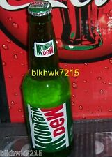 2013 MOUNTAIN DEW 12 OUNCE GLASS BOTTLE NOT ACL STICKERS L@@K