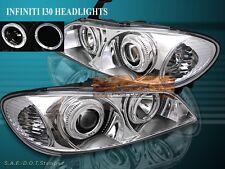Fit For 00-04 Infiniti I30/I35 Headlights Cc Halo 01 02 03 Lamp (Fits: Infiniti I30)