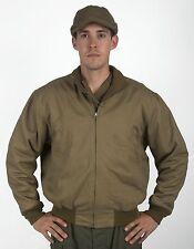 Tanker Jacket, Fleece-Lined, Size L
