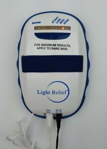 Light Relief Elite LR150 Infrared Pain Therapy Device (Tested And Working)