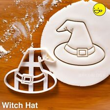 Witch Hat cookie cutter | Halloween witchcraft pagan black magic spells wiccan