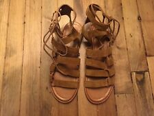 FRYE GLADIATOR SUEDE SANDALS NEW SIZE 9