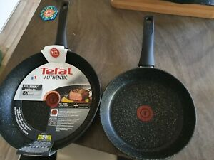 tefal authentic set of frying pans rrp £76