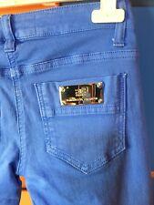 Pantaloni effetto jeans Elisabetta Franchi Tg 40