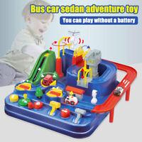 Kid Rail Car Adventure Toy Manipulative Rescues Squad Interesting Game Gift