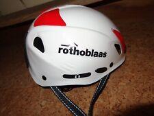 rothoblaas Kinder - Jugendhelm Fahrradhelm weiss 52-54 cm