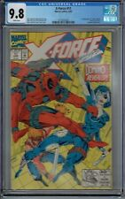 CGC 9.8 X-FORCE #11 1ST APPEARANCE OF TRUE DOMINO DEADPOOL COVER