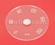 Volvo P1800 1965-69 d-114 x 5 mm Clear Speedometer Lens New