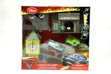 Cars 2 Disney store Pixar London Launcher Playset toys w/ Lights & Sounds