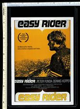 Easy Rider Cinema Trading Card; German; Mini Film Poster; Jimi Hendrix S/track