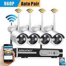 960p Wireless Nvr Kit P2P Hd Outdoor Ir Cut Security Ip Camera Wifi Cctv System