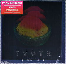 TV ON THE RADIO - SEEDS, ORG 2014 USA vinyl 2LP + DOWNLOAD CODE, SEALED!
