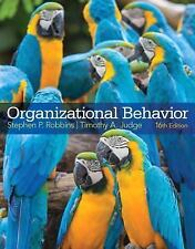 Organizational Behavior by Stephen P. Robbins and Timothy A. Judge (2014, Hardco