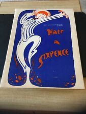 HALF A SIXPENCE Souvenir Theatre Program , C 1966 Dick Kallman