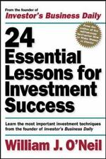 24 Essential Lessons for Investment Success : Learn the Most Important Investmen
