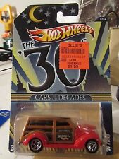 Hot Wheels Cars of the Decades the 30s '37 Ford