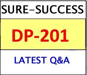 DP-201 EXAM Q&A Designing an Azure Data Solution LATEST