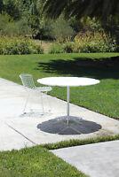 Rare Orig Mid Century Modern PETAL Dining Table Eames Harry Bertoia Knoll Era 50