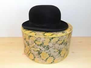 Vintage Standard Quality Stetson Young's Kushon-Fit Bowler Hat w/Box as Shown