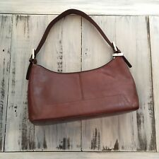 HOBO International Purse Shoulder Handbag Brown Leather NICE
