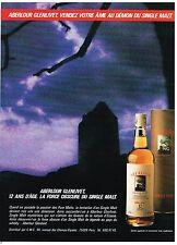 Publicité Advertising 1984 Scotch Whisky Aberlour Glenlivet