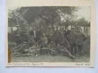 Frankreich Roye Artillerie Protzenquartier Foto 1918 (13x9 cm) (39742)
