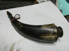 [shel] powder horn about 9 inch long