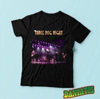 Three Dog Night Concert Tour American rock band T-shirt Tee Sz S M L XL 2XL