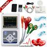 CONTEC 3-Channel 24 Holter Monitor ECG/EKG System Machine,pacemaker Analyzer,USA