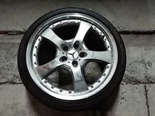 """LORINSER LM5 19"""" X 8.5"""" FOR MERCEDES BENZ WITH  NEW TIRE 245/35/Z19"""